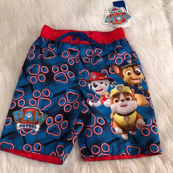 Nickelodeon Other - Boy's Paw Patrol Swim Trunks